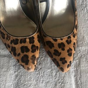 Express Shoes - Express cheetah print heels